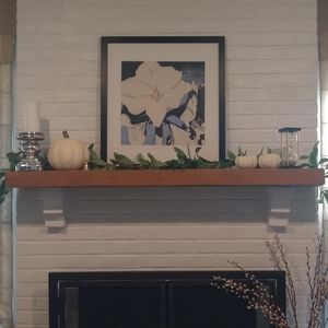 """Home & Hand with Magnolia Accents - Hearth & Hand w/ Magnolia 72"""" Faux Thistle Garland"""